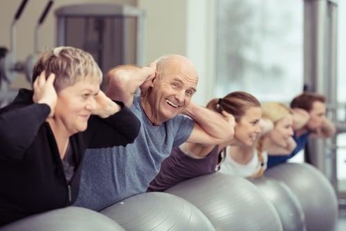 運動對銀髮族、老年人來說,更是需要,因為運動絕對是維持身體活動機能以及延緩老化,最自然健康的方式。