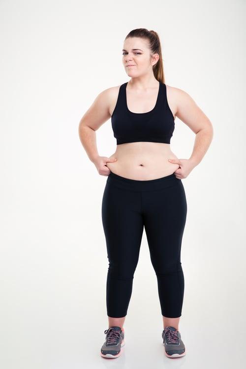 更年期因為新陳代謝變慢、雌激素濃度降低,造成脂肪往腹部集中,不只腰圍變粗,更要小心的是內臟脂肪增加,提高了罹患高血壓、高血脂…等疾病的風險。