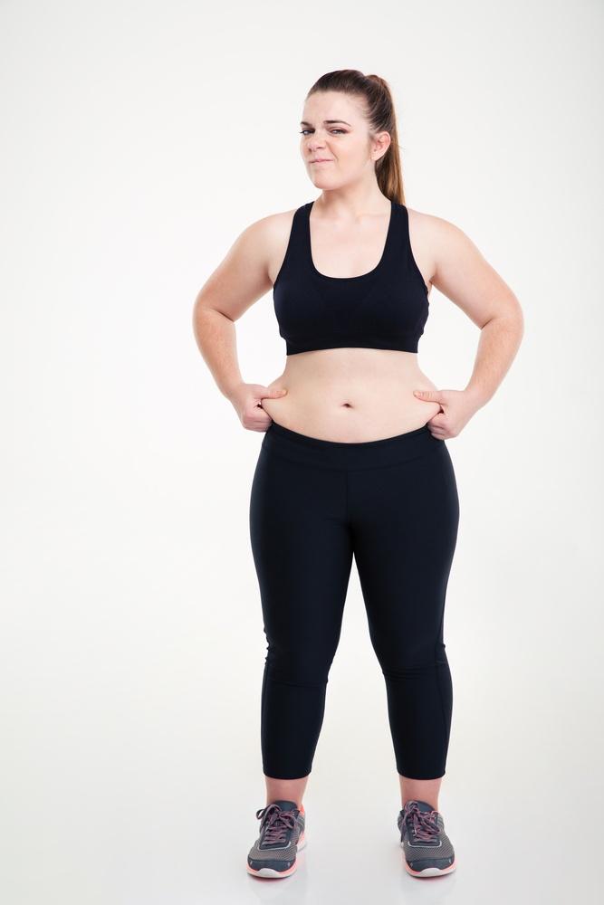 不當減肥法,急速瘦身後容易有肥胖紋,而且復胖極快。