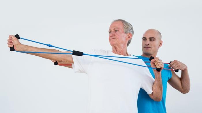 老人運動遇到問題,應該要請教專業人士協助