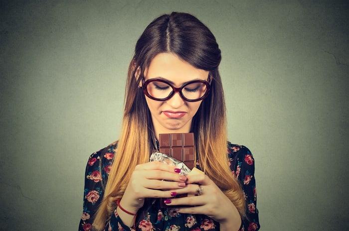 甜食容易造成血糖不穩定,囤積脂肪。
