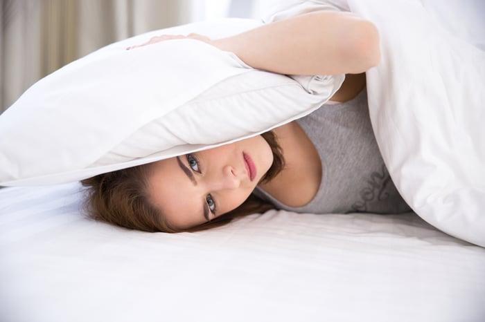 失眠要躺在床上? 放空冥想