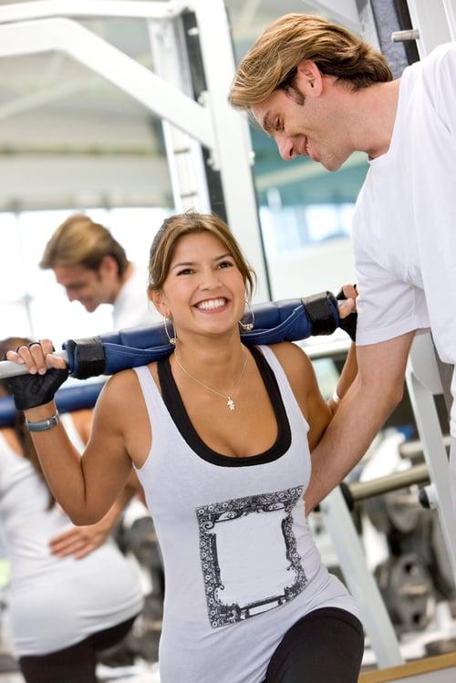 健身教練會依據你的身體狀況來安排一週的健身菜單。