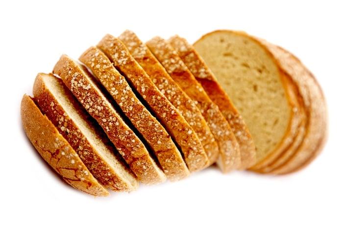 全麥麵包也是低GI食物之一