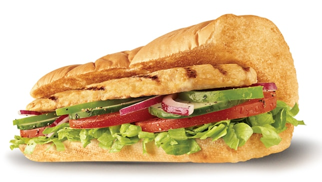 Subway菜單推薦香烤雞肉