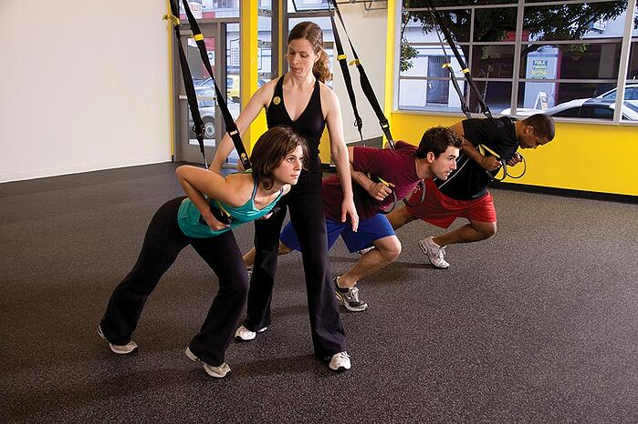 TRX訓練 沒有基礎訓練 容易受傷