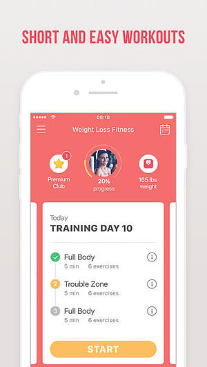 實用健身app,Weight loss fitness by Verv