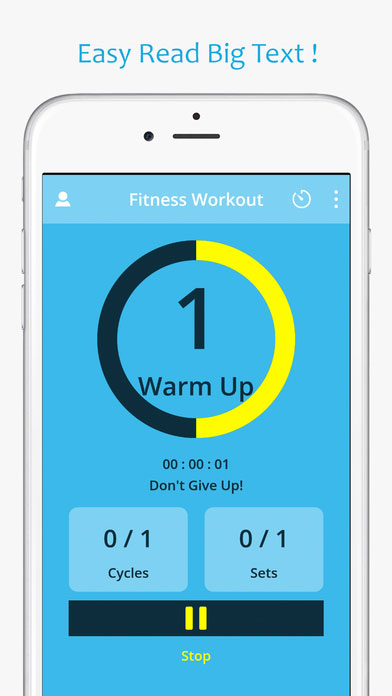 Fitness workout timer,實用健身app