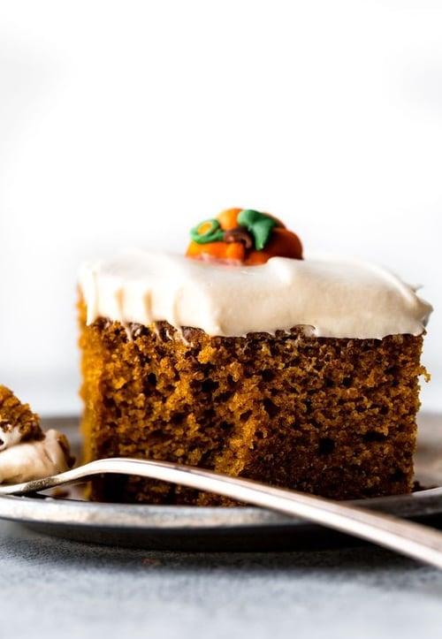 用天然食材做的蛋糕,熱量低也更健康,例如:南瓜蛋糕1分約75公克,熱量129大卡。
