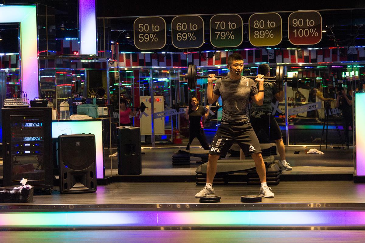 健身房運動,槓桿有氧
