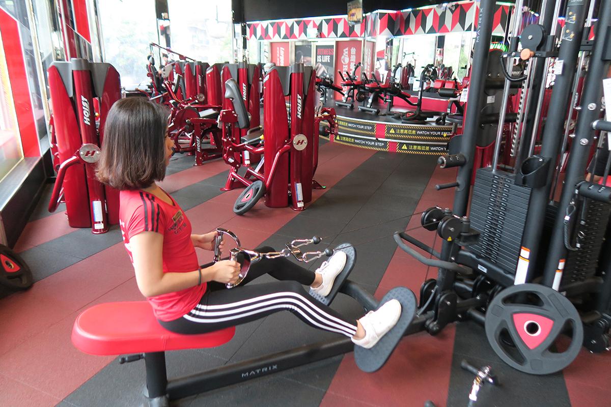 健身房運動,雕塑身型