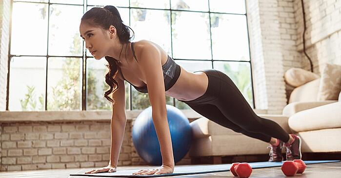 woman-exercsing-at-home