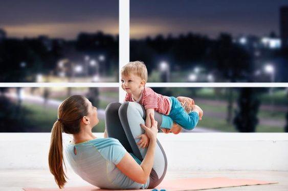 媽媽沒時間運動?8招日常健身小技巧筆記做起來!