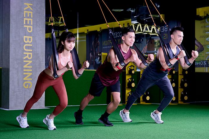 你上過AirFit懸吊課嗎?全新FITZONE Flex一次給你燃脂、肌力雙重訓練