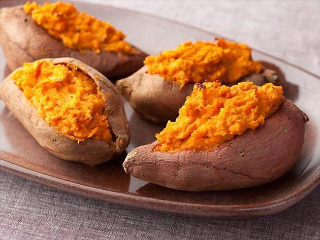 地瓜,擁有低GI特質,富含胡蘿蔔素、維生素C,一直被視為養顏美容的食材