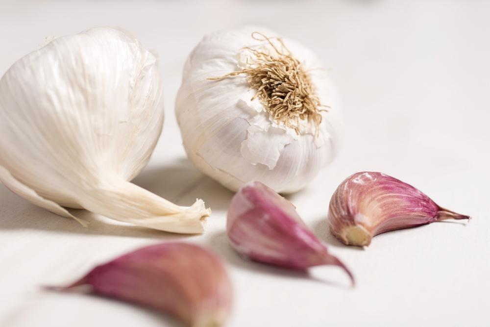 蒜頭除了調味,對於降脂肪肝有益處。